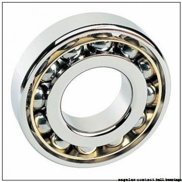 35 mm x 80 mm x 21 mm  NACHI 7307DB angular contact ball bearings