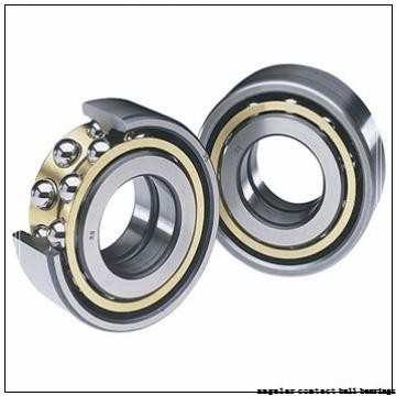 43 mm x 80 mm x 38 mm  Fersa F16086 angular contact ball bearings