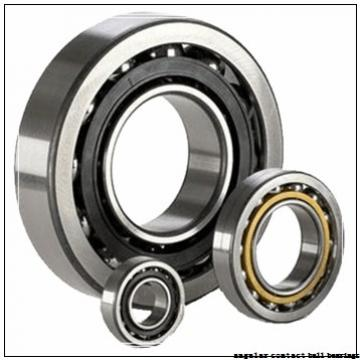 100 mm x 180 mm x 34 mm  NSK QJ 220 angular contact ball bearings