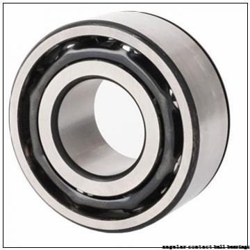 20 mm x 52 mm x 15 mm  ISO 7304 B angular contact ball bearings