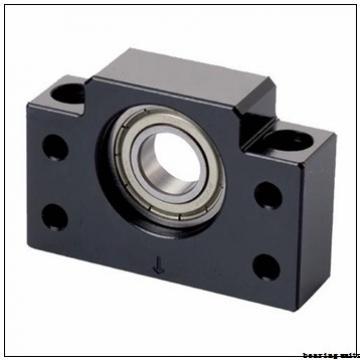 35 mm x 12 mm x 30 mm  NKE PTUEY35 bearing units