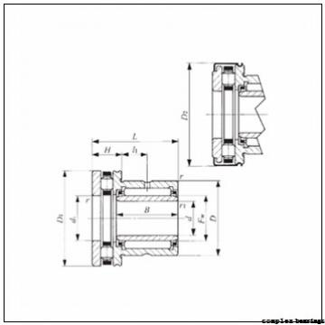 75 mm x 155 mm x 21 mm  75 mm x 155 mm x 21 mm  INA ZARN75155-TV complex bearings