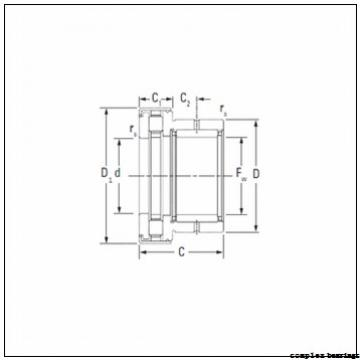 25 mm x 72 mm x 12,5 mm  25 mm x 72 mm x 12,5 mm  NBS ZARN 2572 TN complex bearings