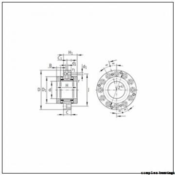 14 mm x 26 mm x 17 mm  14 mm x 26 mm x 17 mm  IKO NBXI 1425Z complex bearings
