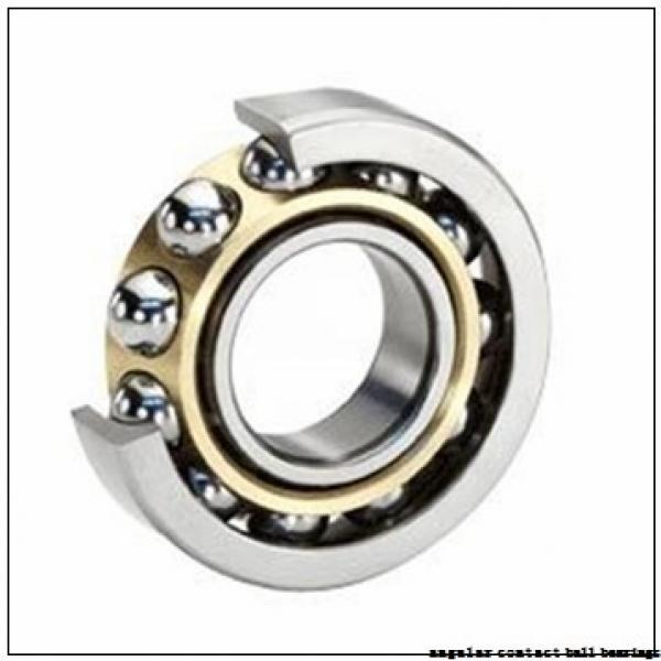 40 mm x 80 mm x 18 mm  SKF 7208 BEGAY angular contact ball bearings #1 image