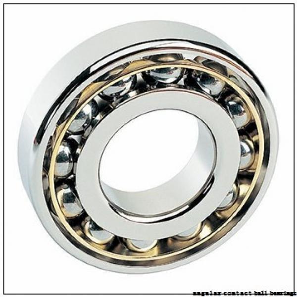 40 mm x 90 mm x 23 mm  NSK QJ308 angular contact ball bearings #3 image
