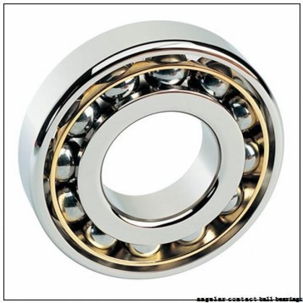 85 mm x 150 mm x 28 mm  NACHI 7217 angular contact ball bearings #1 image