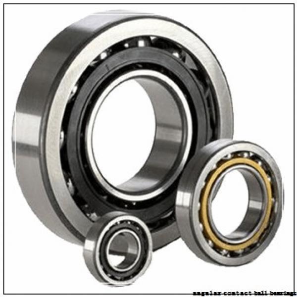 40 mm x 90 mm x 23 mm  NSK QJ308 angular contact ball bearings #1 image
