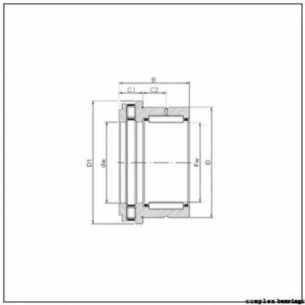 NTN NKX10T2 complex bearings #3 image