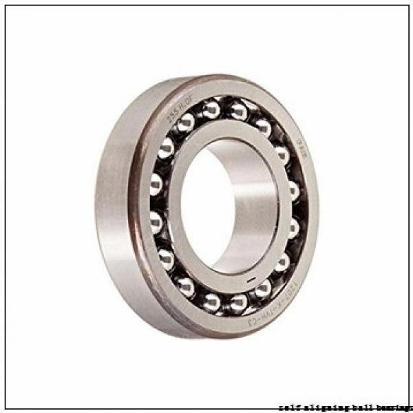 95 mm x 170 mm x 32 mm  ISB 1219 self aligning ball bearings #1 image